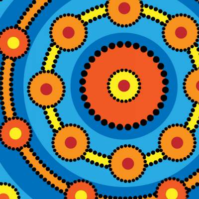 Aboriginal Art rings